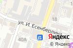 Схема проезда до компании Нурмикс в Шымкенте