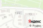 Схема проезда до компании Ален в Шымкенте