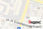 Схема проезда до компании Адвокатский кабинет Шотаева К.Т в Шымкенте