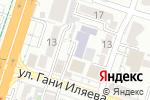 Схема проезда до компании Детская школа искусств в Шымкенте