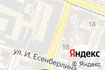Схема проезда до компании Sergey Karunin в Шымкенте