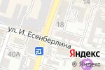 Схема проезда до компании Адвокат Емешов Е.А в Шымкенте