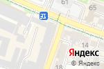Схема проезда до компании ВОСХОД МЕБЕЛЬ в Шымкенте