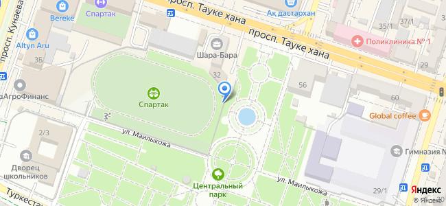 Казахстан, Шымкент, Центральный парк культуры и отдыха