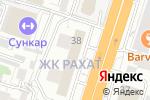 Схема проезда до компании ALFEMO в Шымкенте