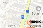 Схема проезда до компании CompPrint в Шымкенте