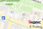 Схема проезда до компании Казкоммерц-полис в Шымкенте