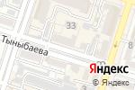 Схема проезда до компании МЕРИДИАН-Т, ТОО в Шымкенте