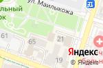 Схема проезда до компании Дони в Шымкенте