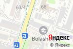Схема проезда до компании SBOX.KZ в Шымкенте