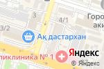 Схема проезда до компании Әсер тур, ТОО в Шымкенте