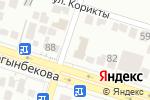 Схема проезда до компании Нұр Сапа в Шымкенте