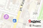 Схема проезда до компании Аделина, ТОО в Шымкенте