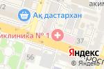 Схема проезда до компании Банкомат, ForteBank в Шымкенте