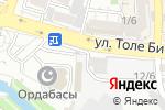 Схема проезда до компании Мебельный салон в Шымкенте