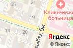 Схема проезда до компании Баян-Сұлу в Шымкенте