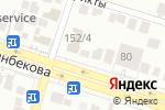 Схема проезда до компании Зерде в Шымкенте