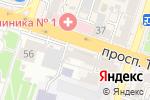 Схема проезда до компании Богдалина и К, ТОО в Шымкенте