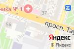 Схема проезда до компании Фаворит МС, ТОО в Шымкенте