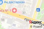 Схема проезда до компании Динар, ТОО в Шымкенте