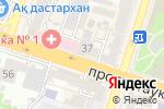 Схема проезда до компании Жан-ГС, ТОО в Шымкенте