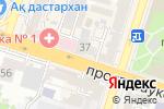 Схема проезда до компании Milagre в Шымкенте