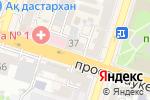 Схема проезда до компании Oskar в Шымкенте