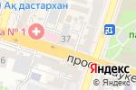 Схема проезда до компании Эквивалент 2000, ТОО в Шымкенте