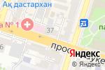 Схема проезда до компании Ника в Шымкенте