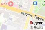Схема проезда до компании Муслим Ата, ТОО в Шымкенте