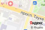 Схема проезда до компании Кон-Сам-Exchаnge, ТОО в Шымкенте
