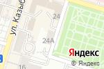 Схема проезда до компании Interteach в Шымкенте