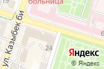 Схема проезда до компании Магазин одежды в Шымкенте