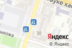 Схема проезда до компании STREET FOOD в Шымкенте