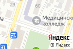 Схема проезда до компании Шымкентский медицинский колледж в Шымкенте