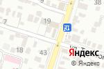 Схема проезда до компании Магия штор в Шымкенте