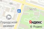 Схема проезда до компании ОЛИМП в Шымкенте