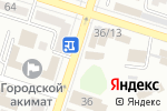 Схема проезда до компании Amore Mio в Шымкенте