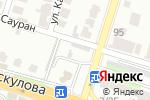Схема проезда до компании ИIРСУ в Шымкенте