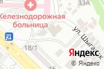 Схема проезда до компании Пять звезд в Шымкенте