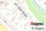 Схема проезда до компании ШАҢЫРАК, ТОО в Шымкенте