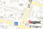Схема проезда до компании Частный судебный исполнитель Куттыбаев Н.Б. в Шымкенте