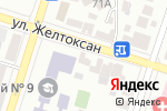 Схема проезда до компании НСК в Шымкенте