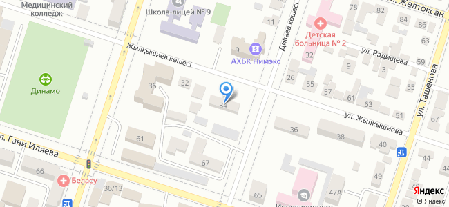 Казахстан, Шымкент, улица Жылкышиева, 34