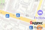 Схема проезда до компании BOUNTY tour в Шымкенте