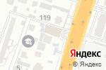 Схема проезда до компании Dax-Шатура в Шымкенте