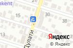 Схема проезда до компании Game_Bar в Шымкенте
