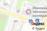 Схема проезда до компании Инновационно-технологический колледж в Шымкенте