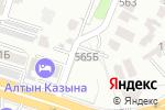Схема проезда до компании GARAGE в Шымкенте