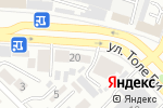 Схема проезда до компании Әділет в Шымкенте